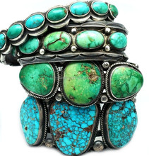 indian navajo natural Turquoise cuff Bracelet bangle wholesale