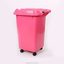 50L indoor separating plastic trash can/50l waste bin
