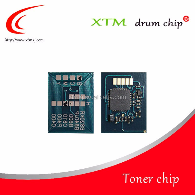 Toner chips 44643001 ~ 44643004 <strong>K</strong>/C/M/Y for OKI LaserJet C801 C821 cartridge chip