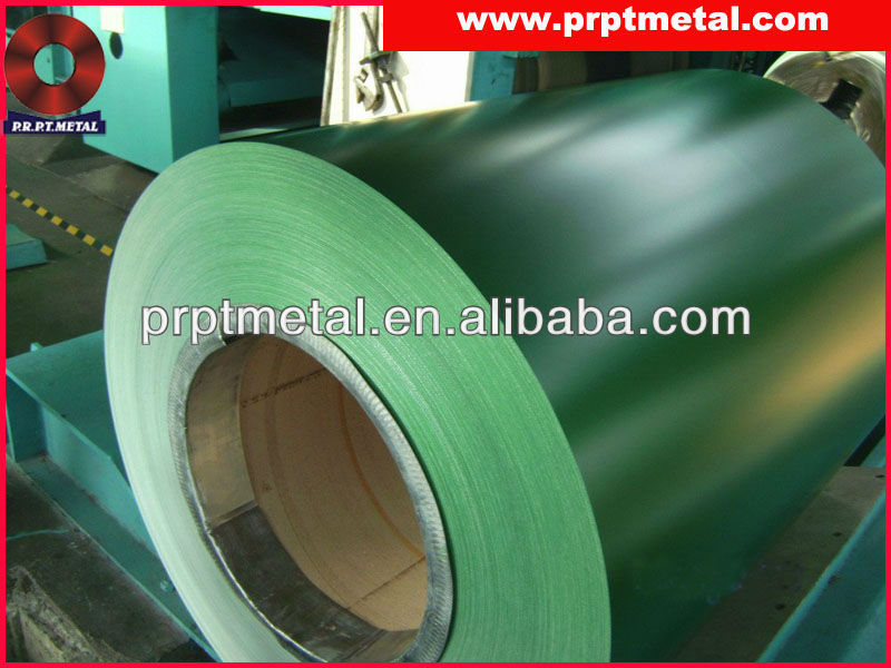 color coated steel coils PPGL for roofing sheet