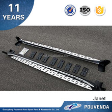 High Quality Aluminum Running Board for Sportage Side Step 2016 KX5 Car Accessories From Pouvenda
