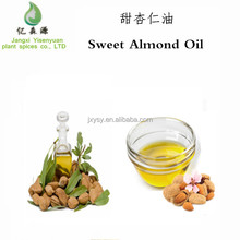 Private Label Organic Sweet Almond Oil Baby Skin Whitening Body Oils CAS 8007-69-0