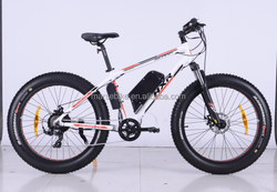 2015 hot sale electric bicycle with fat tires snow electric bike with fat tyre