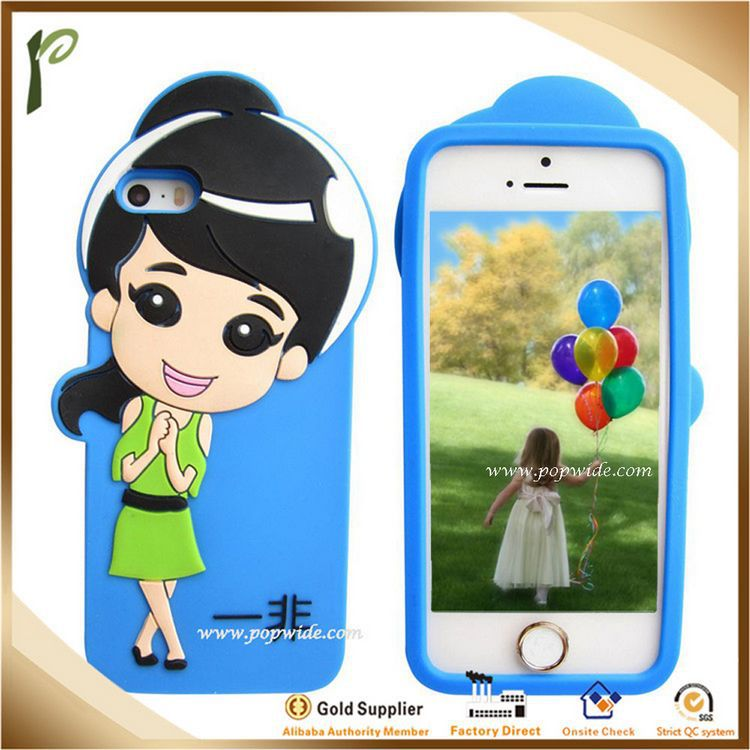 Popwide New fashion silecone waterproof case for iphone 5c,cute waterproof case for iphone 5c