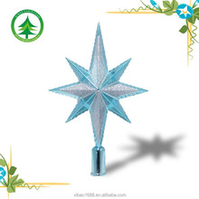 Plastic Star christmas decoration , indoor/outdoor christmas ball ornament