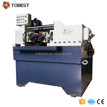 screw nut bolt making thread rolling machine,steel screw rod making machine for USA and Israel TB-40S