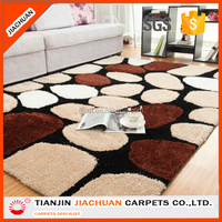 Modern Polyester Custom Turkish Patchwork Shaggy Carpet Rug