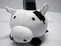 Pig shape mobile phone holder stuffed toy accessories