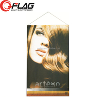 Top Quality Hanging Indoor Advertising Polyester banner for retail displays, tradeshows, window displays