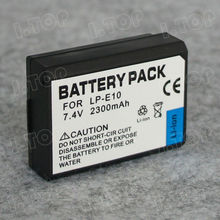 Digital Camera Battery Pack LP-E10 for Canon EOS 1100D Lithium 2300mAh Camera Battery