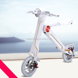 Manufacture sports equipment 2 wheel with seat Elektro-Fahrrad life folding bicycle bike scooter moped with li-ion battery