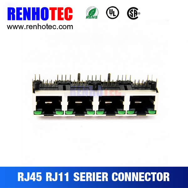 rj45 poe jack network connector