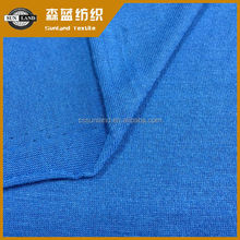 knit 21S spun polyeser cooling fiber jersey fabric for active wear