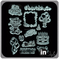 Beautiful Design Clear Stamp for DIY Crafting Scrapbooking Photo Album