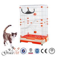 Dalian wholesale Folding Pet Cages cat carriers