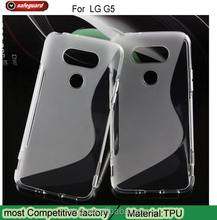 Hot Selling OEM Super TPU Mobile Phone Cover Case for LG G5 S Line TPU Soft Case for LG G5