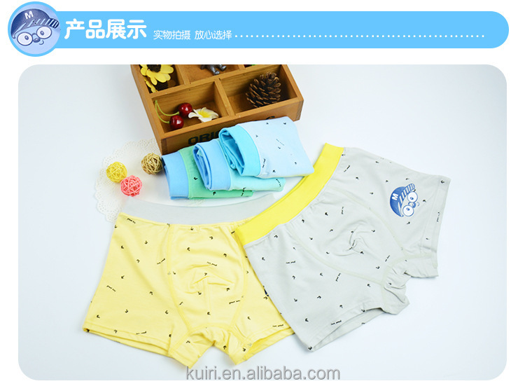 2016 New Soft Cotton Kids Underwear for Boys Girls Children Briefs Cute Panties Shorts Boxers Clothing Accessories etnk-35
