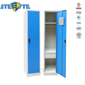 China Design Wardrobe Single Door Gym Storage School Metal Cabinet Steel Locker