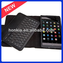 Detachable Wireless Keyboard with Leather Case for Google Nexus 7 2nd Generation
