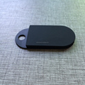Super Thin Bluetooth Push Button iBeacon Tracker With Accelerometer Sensor