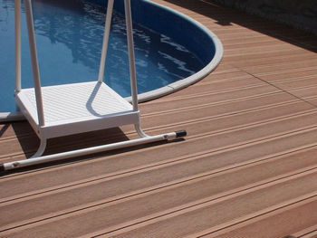 150*25mm Hollow Outdoor WPC Board /Wood Plastic Composite Decking 2