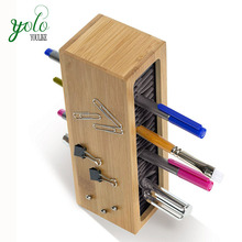 office stationery Quirky bamboo pencil holder
