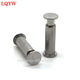 Hardware fasteners rivets male and female aluminum pop rivets