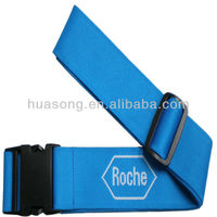 wholesale printed top quality nylon luggage bag belt