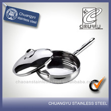 New product stainless steel round plastic dish pan