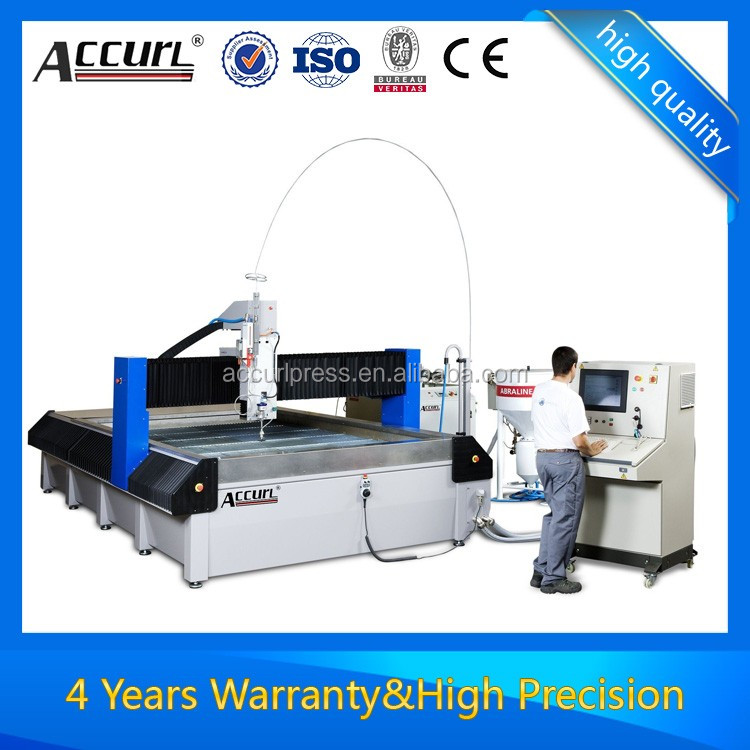 double heads cnc waterjet cutting machine for ceramic tile