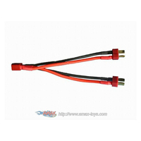 mt-b56 Battery Harness Deans plug for 2 Packs in Parallel