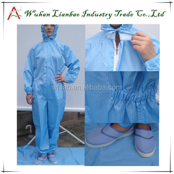 High quality Blue or White workwear overall LAB-CL-07 TC ultima coverall workwear