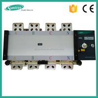 CE 3P 4P Electric AC 3 phase Dual Power 220V ATS controller Generator Changeover switch Automatic transfer switch 1A~3200A