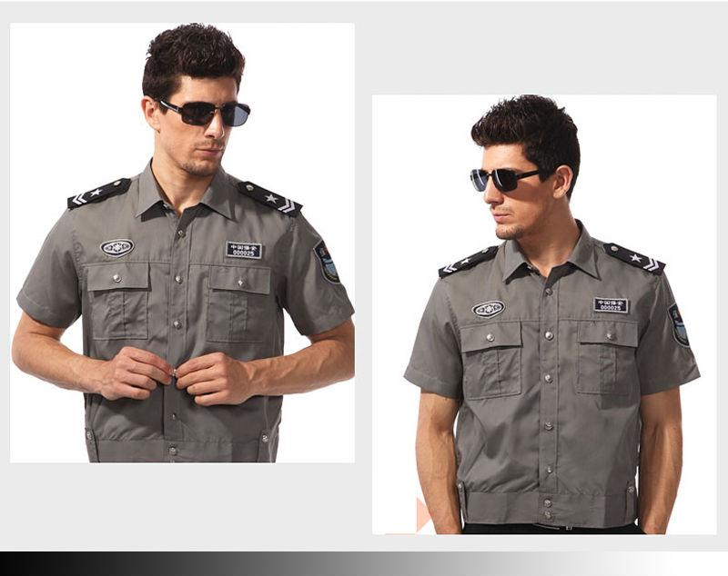 Factory fashion design security uniform security shirt buy security uniform security guard