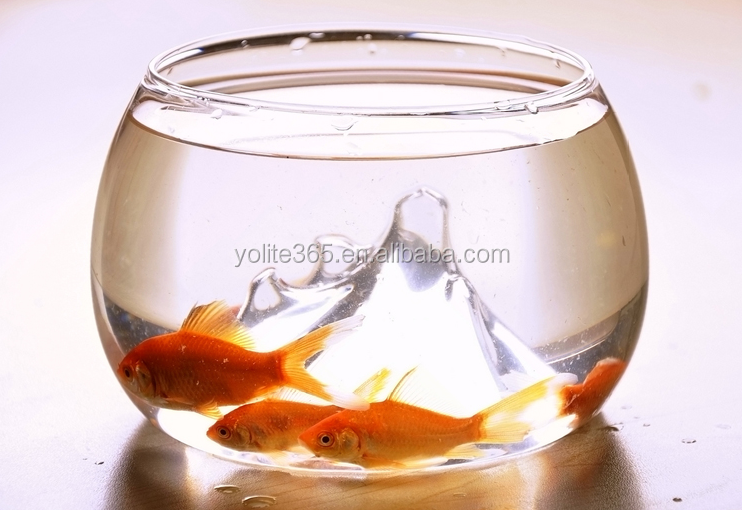 Wholesale New Material Round Acrylic Fish Tank/Wall Fishing Holder/Acrylic Fish Bowl