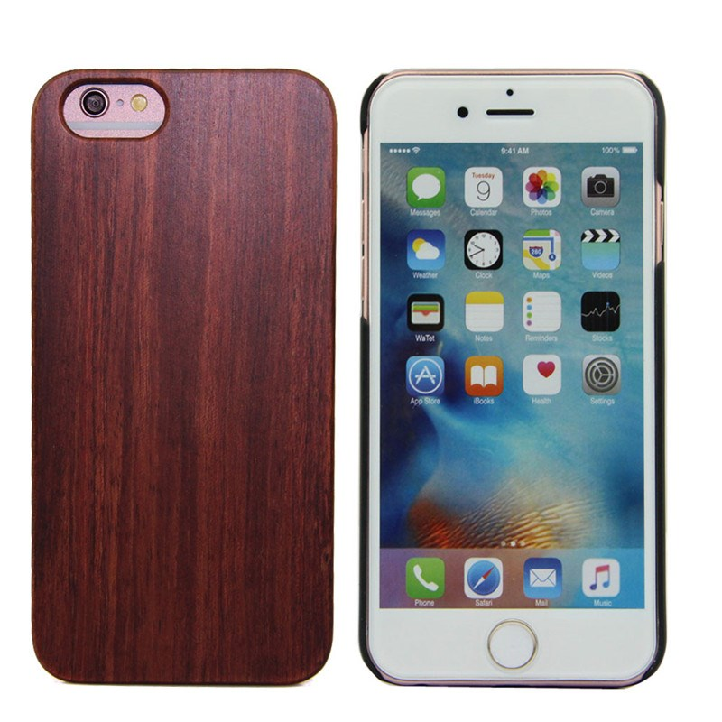 2017 New Mobile Accessory For Iphone 6 Provide Sample wood phone case
