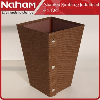 NAHAM wholesale household waste bin creative folding trash bin