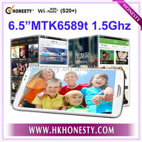 Original White 6.5 inch Full HD Quad Core MTK6589T 1.5Ghz Android 4.2 2GB RAM 16GB ROM 13.0MP Smart Mobile Phone