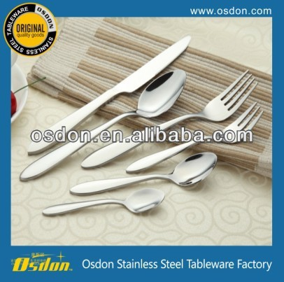 Hot Selling Fine Workmanship Stainless Steel Dinnerware China Factory