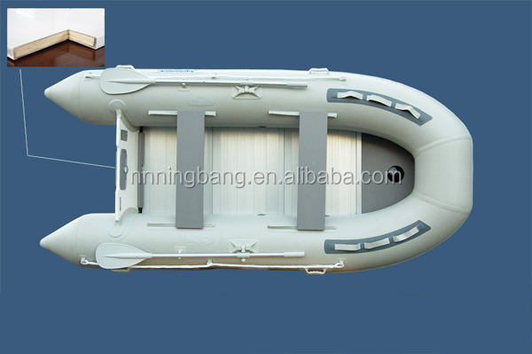 NB-AB-330-002 NingBang Fiberglass floor 0.9mm thickness Inflatable keel for drifting