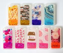 China Supplier TPU Liquid Glitter Sparkly Case For LG K580 G2 STYLUS