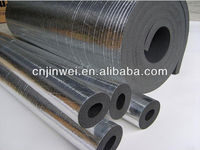 Thermal foam insulation building material with aluminum foil
