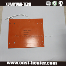 Electric Battery Silicone Rubber Heater Powered Heating Element