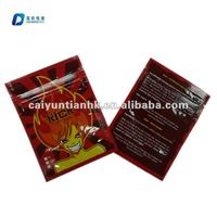 spice wholesale packaging bag/mini potpourri ziplock bag