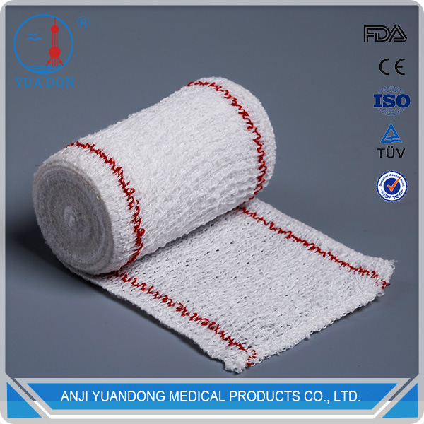 YD30096 Medical Disposables Supplies High quality Crepe Elastic Bandages