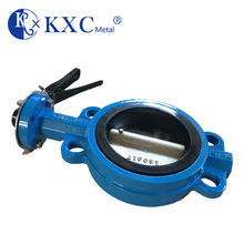 JIS 10K PN25 butterfly valves with handl operated lever