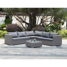 Professional All Weather outdoor furniture rattan patio sofa