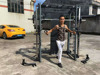 Guangzhou Yijin Sports Equipment Co. AMA-8802A Fitness power rack / functional training rack