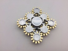 2017 hot selling fidget spinner 9gear pattern toy