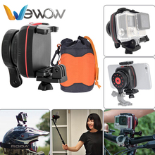 Wewow world leading technology portable steadicam gimbal stabilizer for bicycle